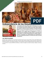 independencia Usa