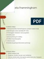 Kriteria Frammingham