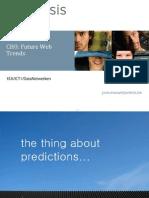 ICT1 DN CH0 Future Web Trends