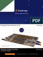 GreyOrange Robotics solutions portfolio.pptx