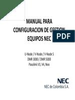 Manual Gestión NEC