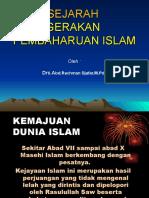 1. Gerakan Pembaharuan Isilam