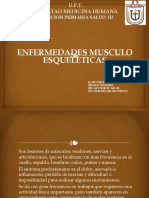1.- Enfermedades Musculo Esqueleticas