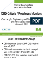 OBD Readiness