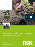 Engineer's Quick Reference Guide---For Ground Investigation