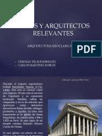Obras y Arquitectos- Arquitectura Neoclasica