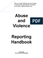 Abuse Policy Handbook_Revised