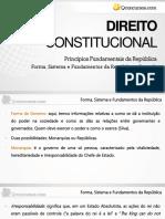Forma , Sistema e Fundamentos Da República p2