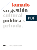 Diplomado en Gestión Cultural Pública y Privada 2019