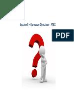 European Directives ‐ ATEX