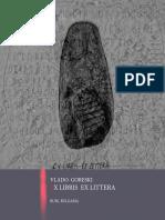 Vlado Goreski Ex Libris Ex Littera
