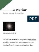 Cúmulo Estelar (1)