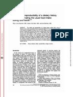 diethistory