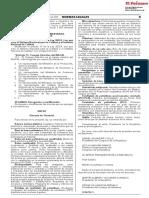 Ley 30885 Estable Conformación Funcionamiento Redes Integradas (Ris)