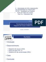 Diagrama de Causa e Efeito 5w1h (Rodrigo)