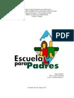 plan de actividades 1° escuela para padres