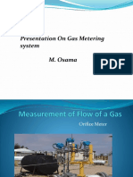 Measurement of Flow of a Gas [Repaired]