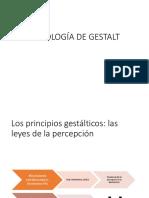 Principios Gestálticos-leyes de Percepción