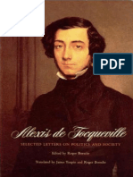 Alexis de Tocqueville - Selected Letters on Politics and Society