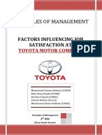 Factors Influencing Job Satisfaction at Toyota Motor Company _ Muhammad Usman Nadeem