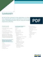 PAS99 Summary