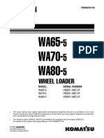 Komatsu WA65-5 Wheel Loader Service Repair Manual SNH50051 and up.pdf