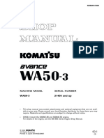 Komatsu WA50-3 Avance Wheel Loader Service Repair Manual SN21450 and up.pdf