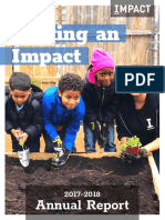 Making an Impact - Impact Services Annual Report (2017-18)