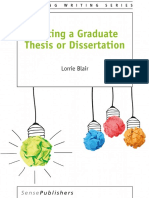 Writing a Graduate Thesis or Dissertation-(2016)