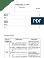 interdisciplinary project charts