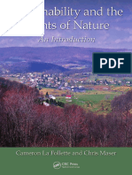 Sustainability and the Rights of Nature an Introduction