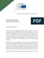 Diputados europeos piden retiro de proyecto de María Fernanda Cabal