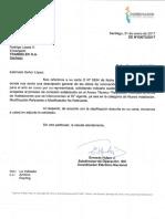 DE 00072-17, Su carta O N° 0264 (Reemplazo equipos que no afectan FIT)