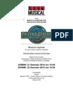 Bando Audizioni Notre Dame Il Mistero Della Cattedrale Scad 15 Gennaio