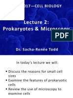 Lecture on Microscopy and Prokaryotes