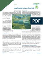 A585 Understanding Ammonia in Aquaculture Ponds