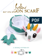 Dragon Scarf Sewing Pattern2