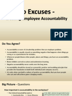 No Excuses - Creating Employee Accountability.pptx
