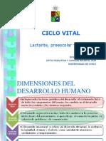 Ciclo Vital Del Niño 2018