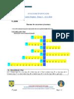 2011 Engleză Alte Concursuri Barem Clasa a v-A 0