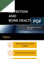 (k5) Nutrition and Bone Health 2015