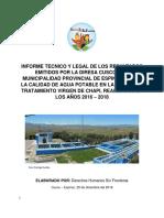 Informe PTAP Agua-Espinar DHSF