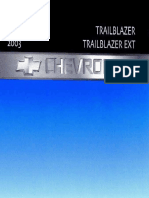 Manual Propietario 2003 Chevrolet Trailblazer Owners