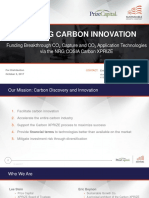 Financing Carbon Innovation