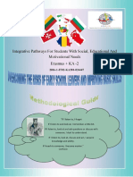 """European Project Erasmus + Methodological Guide """"Overcoming the Risks of Early School Leavers and improving Basic Skills"""""""