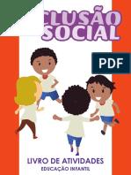 Inclusão Social - livro de atividades educação infantil