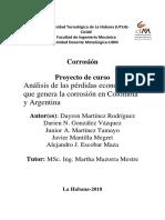 Analisis Corrosivo-Economico de Colombia y Argentina