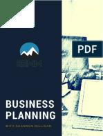 Real Estate Business Plan REMM Shannon Milligan