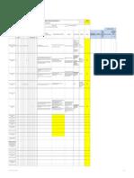 Matriz de Planificacion de Cambios Del SGI - Software