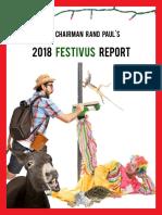 Chairman Paul's 2018 Festivus Report